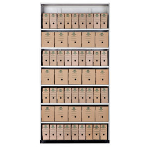 WALK IN FILING UNIT-ARCHIVE BOXES
